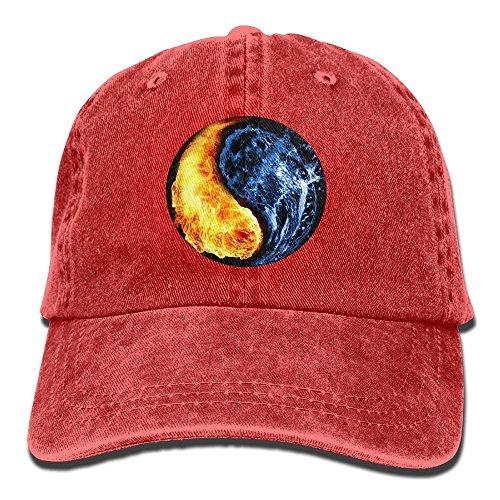 Safan532 Unisex Yinyang Cool Funny Logo Summer Fashion Cotton Baseball Cap Adjustable Trucker Hats For Outdoor - Snapback Australia Chicago Bulls