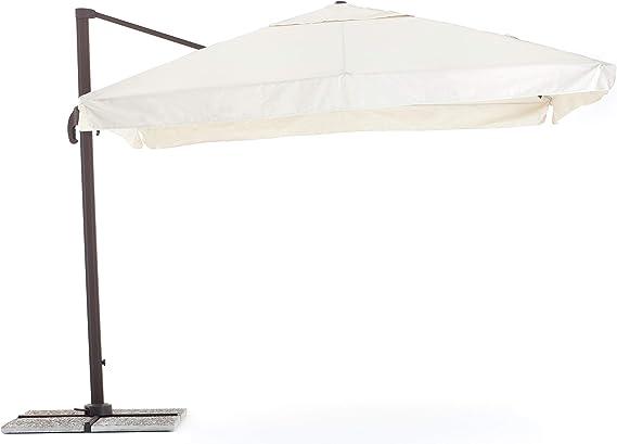SENSO FLAP - Sombrilla retráctil 285x400x270 cm: Amazon.es: Hogar