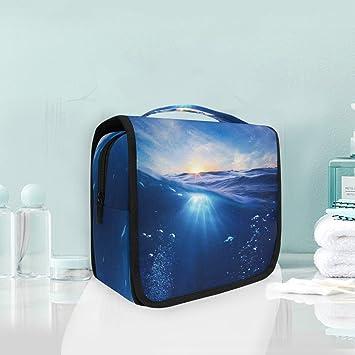 Amazon.com: Neceser para colgar cosméticos de viaje, gran ...