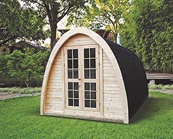 Sauna finlandesa Iglú para hasta 4 personas, de exterior: Amazon.es: Hogar