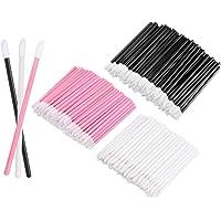KEDSUM 300pcs Disposable Lipstick Wands Lip Gloss Applicators Makeup Brushes Tool Kits