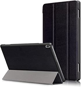 Smart Cover for Lenovo Tab 4 10 Tablet Case(Not Tab4 10 Plus) Folio Smart Cove for Lenovo Tab 4 10.1 inch (TB-X304F,TB-X304N) Slim Folding Stand with Auto Sleep Wake Function,Black
