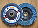 Premium FLAP DISCS 7'' x 7/8'' Zirconia 60 grit Grinding Wheel grinder tool - 5pcs Pack