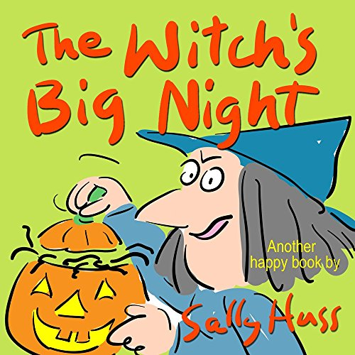 The Witch's Big Night (Funny, Rhyming Bedtime Story/Children's Picture Book About Making Friends)]()