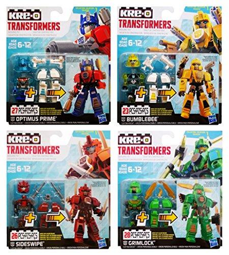 KRE-O Transformers Custom Kreons Collection 1: Optimus Prime, Bumblebee, Sideswipe & - Transformers Combiners Kreo