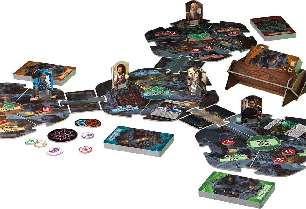 FFG- Horror a Arkham V3 : Juego de Bandeja, FFGAHB01: Amazon.es: Juguetes y juegos