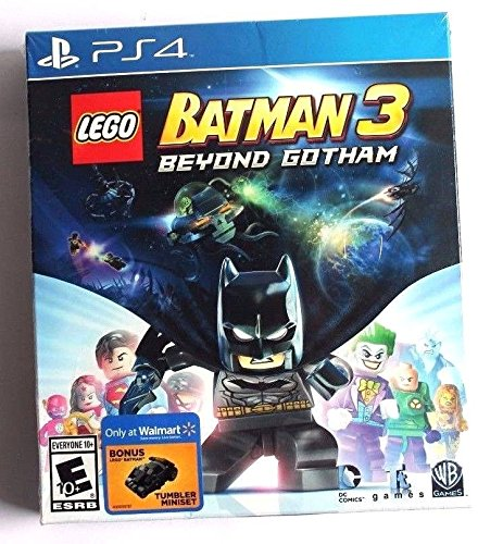 PS4 Lego Batman 3 Beyond Gotham Tumbler Bundle Edition