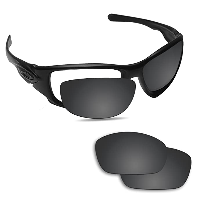 ef6d4fd1a4b Image Unavailable. Image not available for. Color  Fiskr Replacement Lenses  for Oakley Ten X Polarized Black