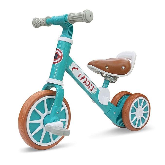 LLCX Triciclo Infantil 2 en 1 Bicicleta de Equilibrio del bebé ...