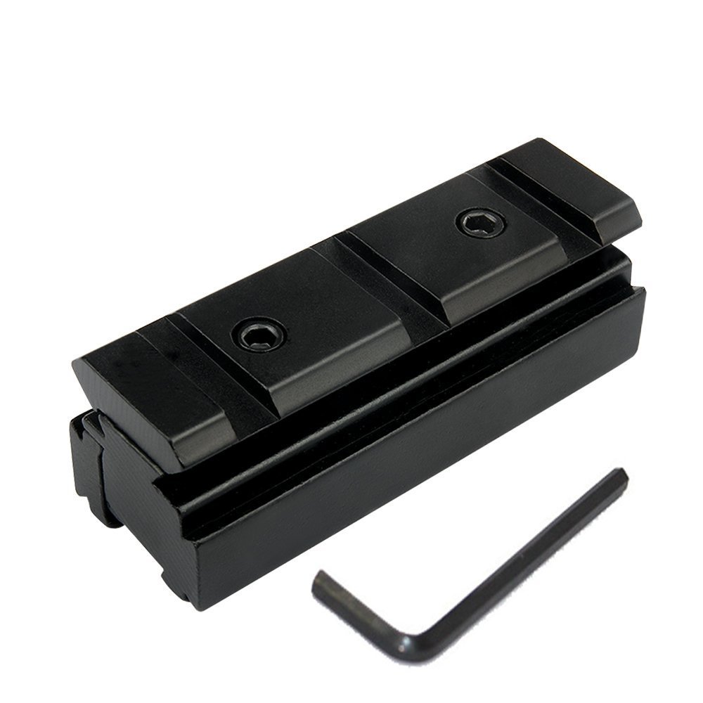 UniqueFire 3-slots Riser Lowピカティニーウィーバーベースマウント/スコープマウントレールレール変換11 mm to 20 mm B07BNFF78S