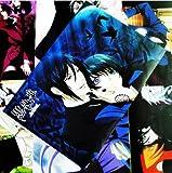 Topbill Anime Black Butler Kuroshitsuji Embossing Posters 8pcs