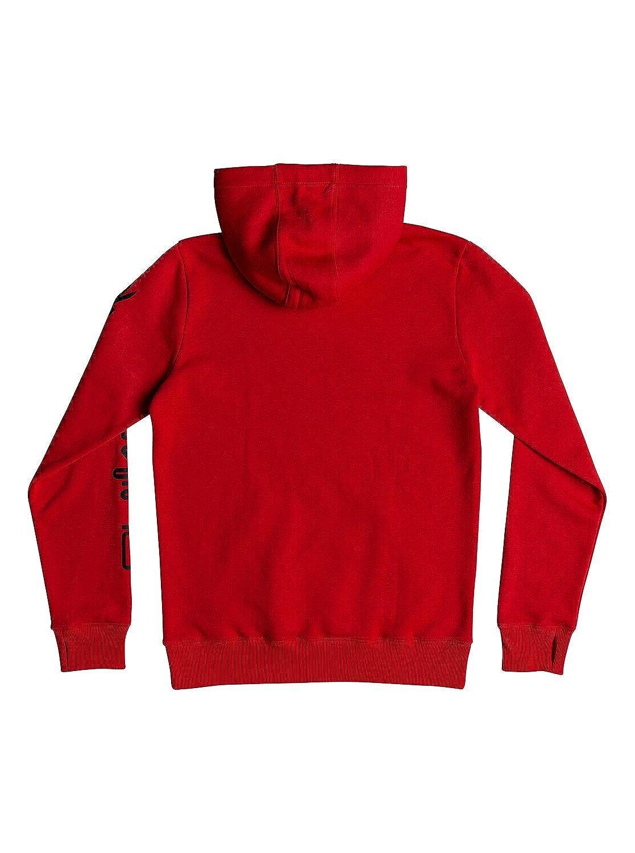 Quiksilver Mens Big Logo Tech Hoodie Fleece Jacket