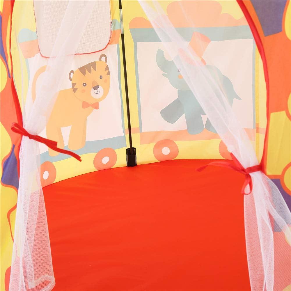 Tenda dei Bambini del Partito Gioco Portatile Tenda in Grado di ospitare 3 Bambini casa Giochi per Bambini Tenda Esterna e al Coperto per Bambini