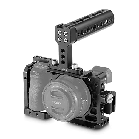 SMALLRIG A6500 Cage Kit Jaula para Cámara Sony a6500-1968: Amazon ...