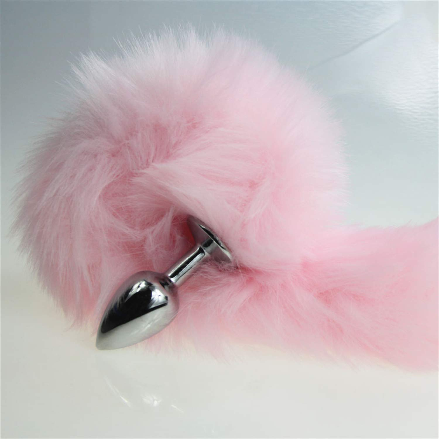 63087b1a9b7 Amazon.com  FANRENYOU Joyful Pink Fox Dog Tail Metal Furry Anal Plug Sexy  Toys Butt Plug BDSM Flirt Anus Plug for Women Wild Cat Tail Adult Toy  Roleplaying  ...