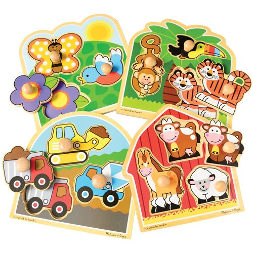 constructive-playthings-lic-3300-set-of-4-beginner-knobbed-puzzles-featuring-easy-grap-pegs-for-litt