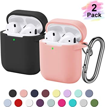 Amazon Com 2 Pack Funbiz Designed For Airpods Case Cute