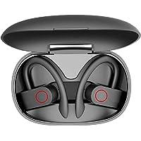 Auriculares elegantes inalámbricos TWS, Bluetooth 5.0 con estuche de carga, Inalámbrico verdadero, IPX7 Auriculares…