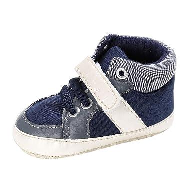 aac3c07d9 SamMoSon Zapatos Bebe Recien Nacido niña Invierno con Suela Zapatos De Bebé  Niños Niñas Cuna Recién Nacida Suela Blanda Zapatos Zapatillas NY   3  ...