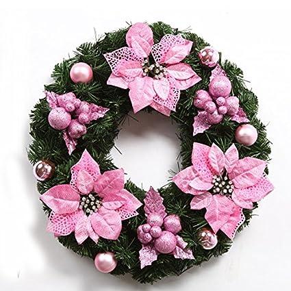 LYFWL Christmas Ornaments Wedding Wreath Christmas Wreath Christmas Wreath  Christmas Decorations Christmas Door Hanging Christmas Wreath - Amazon.com: LYFWL Christmas Ornaments Wedding Wreath Christmas
