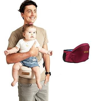 feea492ec49 Kangaroo Baby Carrier Waist Stool Walkers Baby Sling Hold Waist Belt  Backpack Hipseat Belt Kids Infant Hip Seat Toddler Children red  Amazon.co. uk  Baby