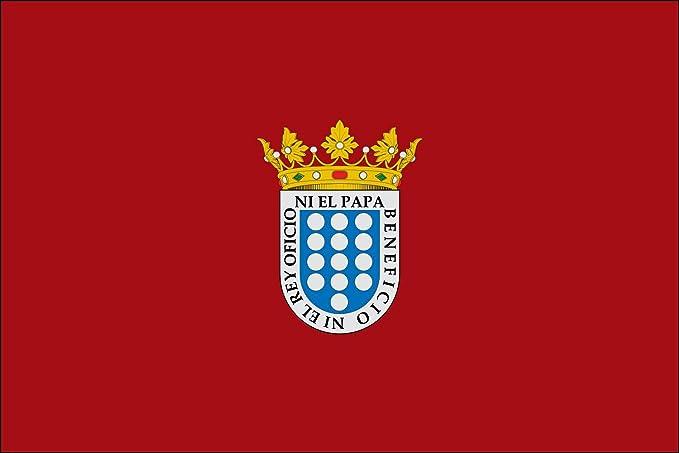 magFlags Bandera Large Medina del Campo, en Valladolid España | Bandera Paisaje | 1.35m² | 90x150cm: Amazon.es: Jardín