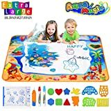 Water Doodle Mats Multicolor Drawing Mat Sea World Large Size 39.3 x 27.6
