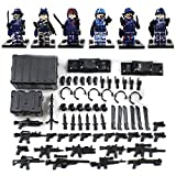 Falcon Commandos Counter-Terrorism Eagle Hunting Minifigure - Military Army Desert War Weapon Building Toys