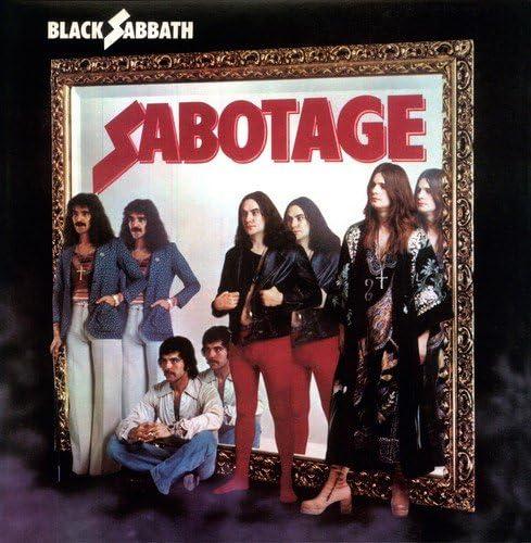 Black Sabbath Sticker Ozzy Geezer Iommi Bill Ward You Can Only Trust 3 x 3 Vinyl