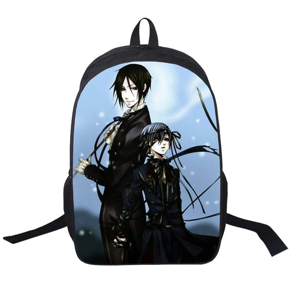 bba0883c039a YOYOSHome Anime Black Butler Cosplay College Bag BookBag Rucksack ...
