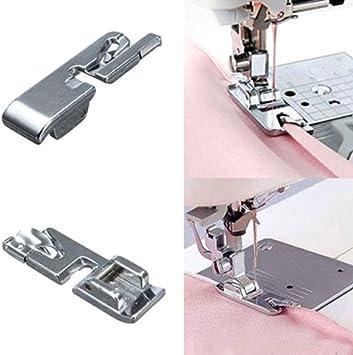 Prensatelas para máquina de coser, dobladillo enrollado, n.º 685 ...