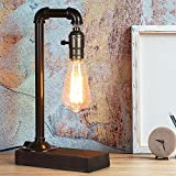 HAITRAL Retro Vintage Table Lamp- Industrial Loft