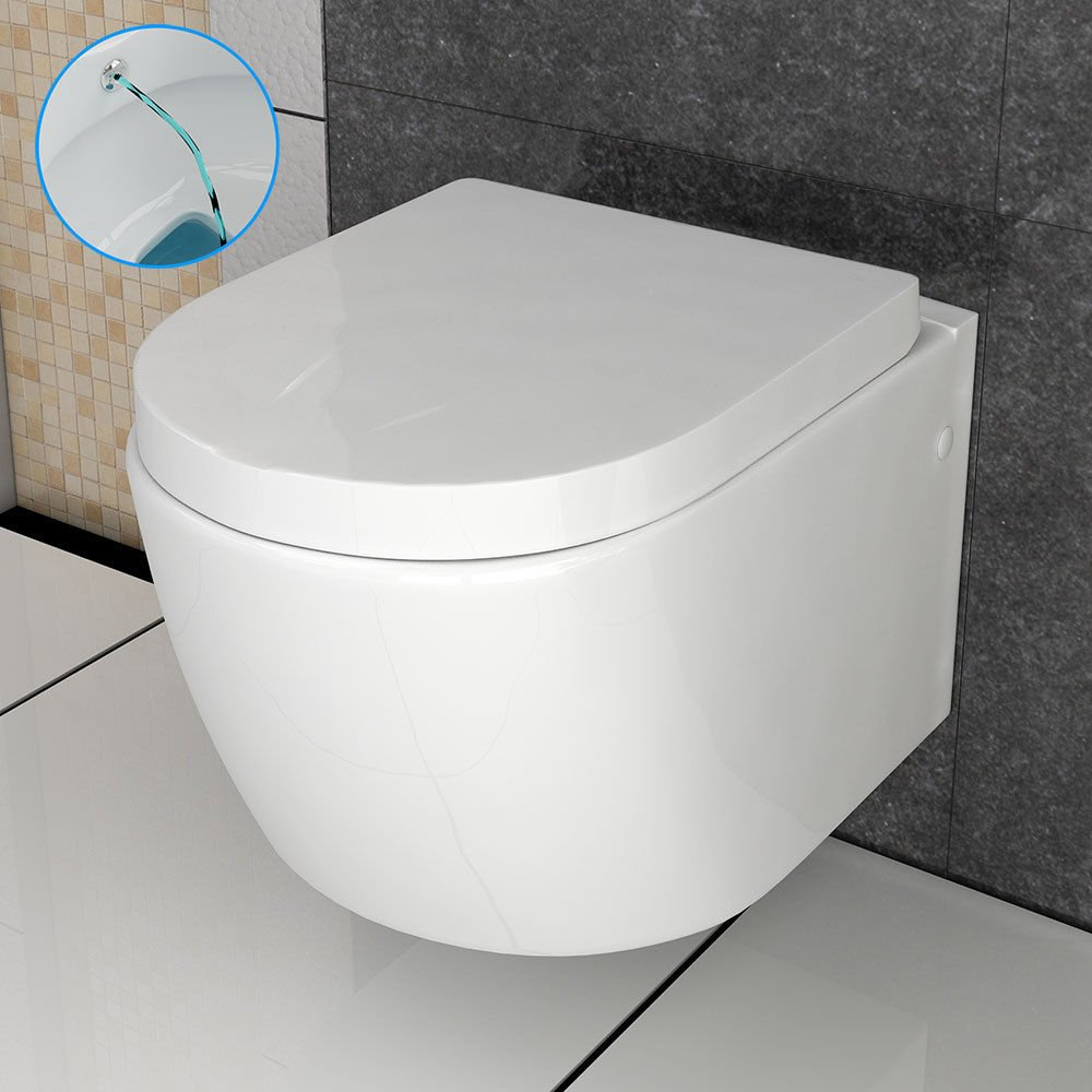 Sanitärkeramik  Dusch WC mit Bidet Funktion Toilette Taharet funktion Keramik ...