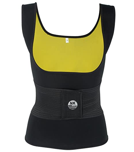 7e4ca8598a Women s Slimming Body Vest Adjustable Hot Neoprene Belt Sweat Shaper Shirt  Sauna Tank Top
