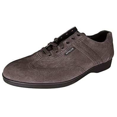 35f0387763 Amazon.com | Mephisto Mens Stefano Suede Lace Up Shoes, Dark Grey ...