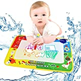 Coromose 4Color Water Drawing Mat Board &Magic Pen Doodle Kids Toy Gift 46X30cm