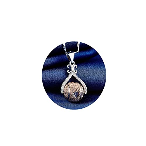 Pendants ZENI 925 Sterling Silver Pendant Necklace 18 Box Chain with 3A Cubic Zirconia Pendant Simple Fashion Ladies Jewelry Necklaces