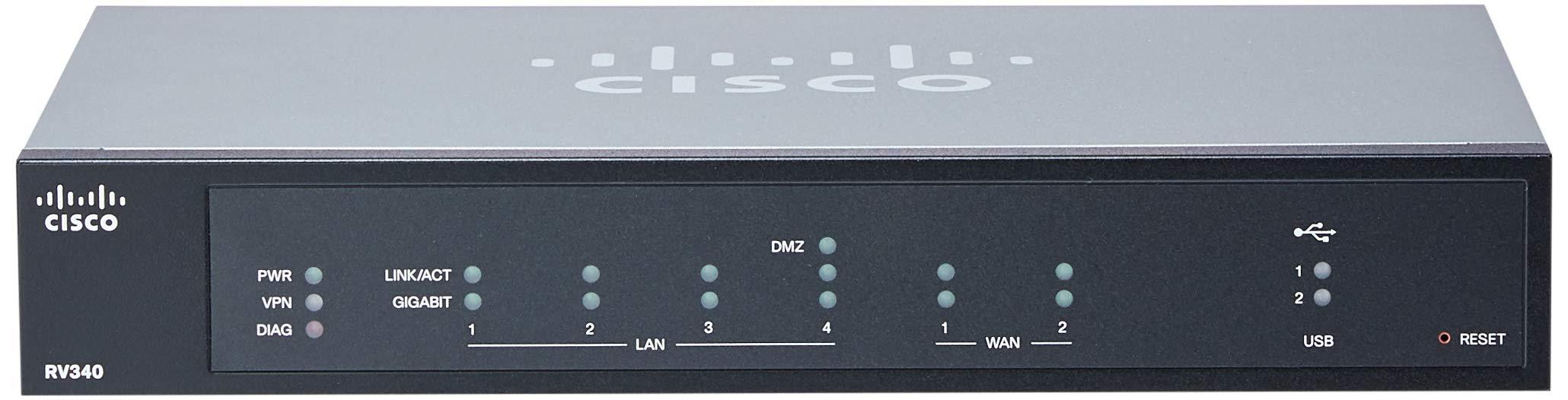 Cisco RV340-K9-NA Dual WAN Gigabit Router by Cisco Systems