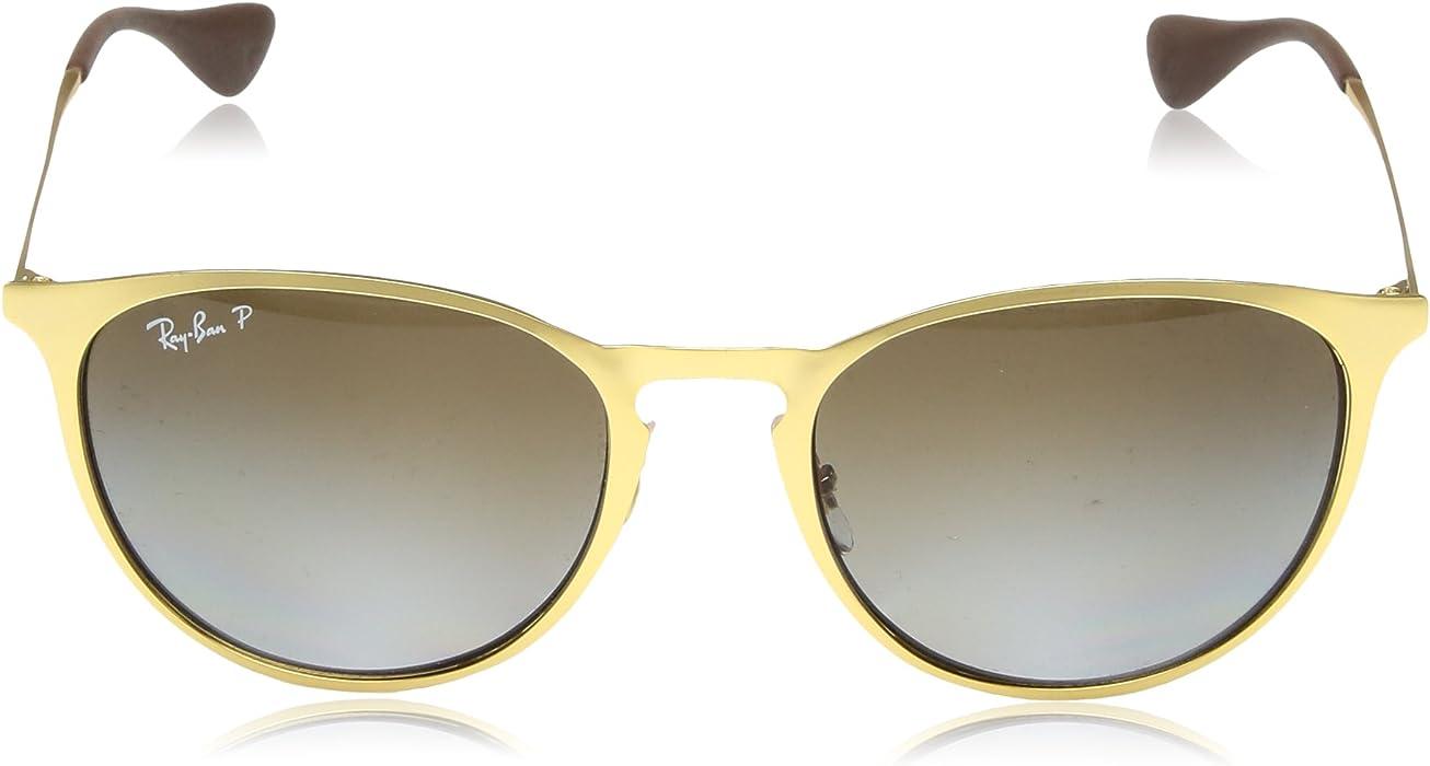 b6af8f115e0 Amazon.com  Ray-Ban Erika Metal Polarized Round Sunglasses MATTE ...