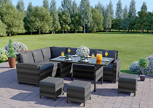 Abreo-9-Seater-Rattan-Corner-Garden-Dining-Set-Furniture-Black-Brown-Dark-Mixed-Grey-Dark-Mixed-Grey-With-Dark-Cushions