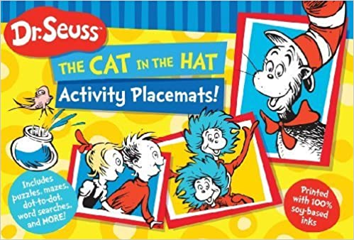 Dr. Seuss The Cat in the Hat Activity Placemats!: Includes puzzles, mazes, dot-to-dot, word searches, and more! (Dr. Seuss Activity Books) by Dr. Seuss Enterprises (2013)