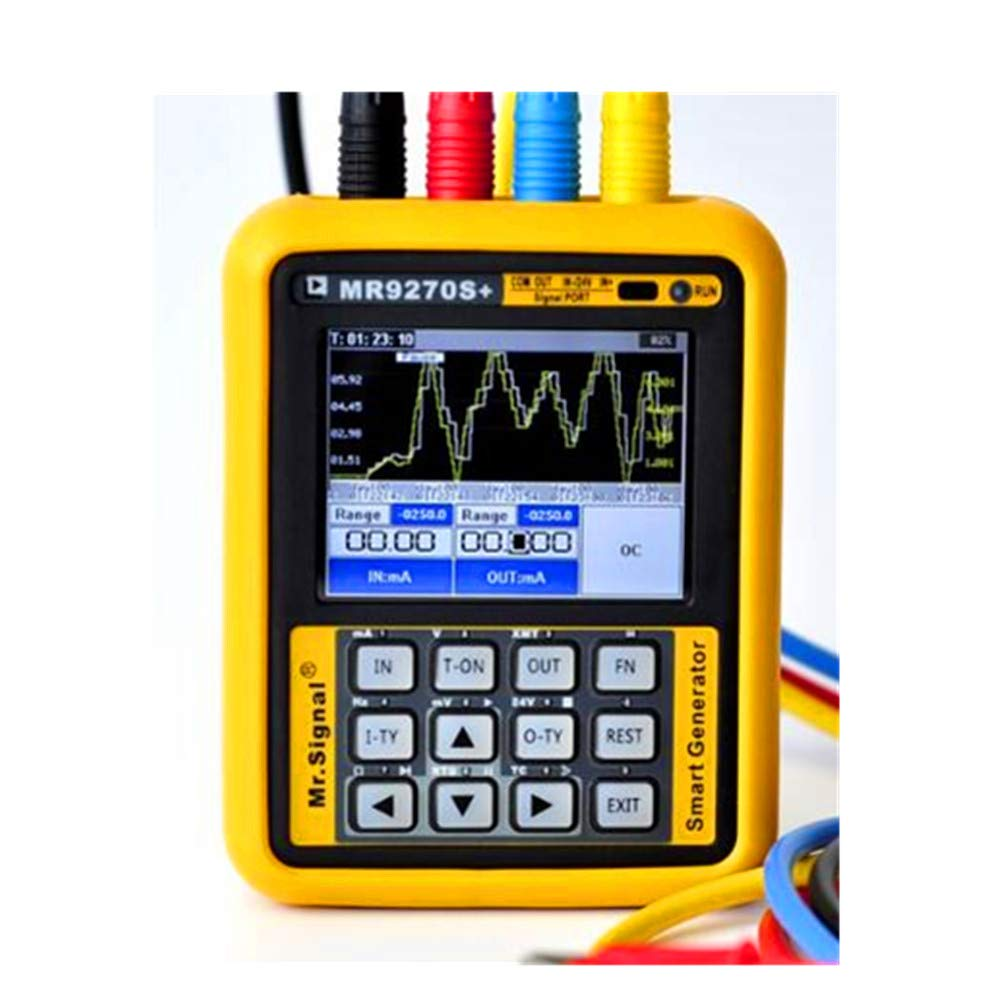 Signal Generator Calibration Current Voltage Thermocouple MR9270S 4-20mA /HART Function Current Voltage Signal Pressure Transmitter USB Port Rechargeable
