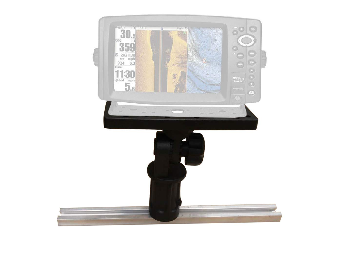 Brocraft Kayak Track Fish Finder Mount//Kayak Fish Finder Mount for Track