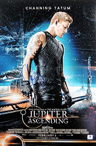 Channing Tatum Signed Autographed 12X18 Photo Jupiter Ascending Poster GV838770