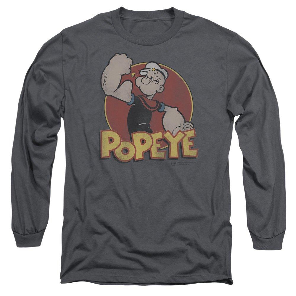 Popeye The Sailor Man Cartoon Character Retro Ring Adult T Shirt