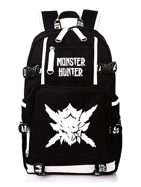 Cosstars Monster Hunter MH Juego Mochila Escolar Estudiante ...