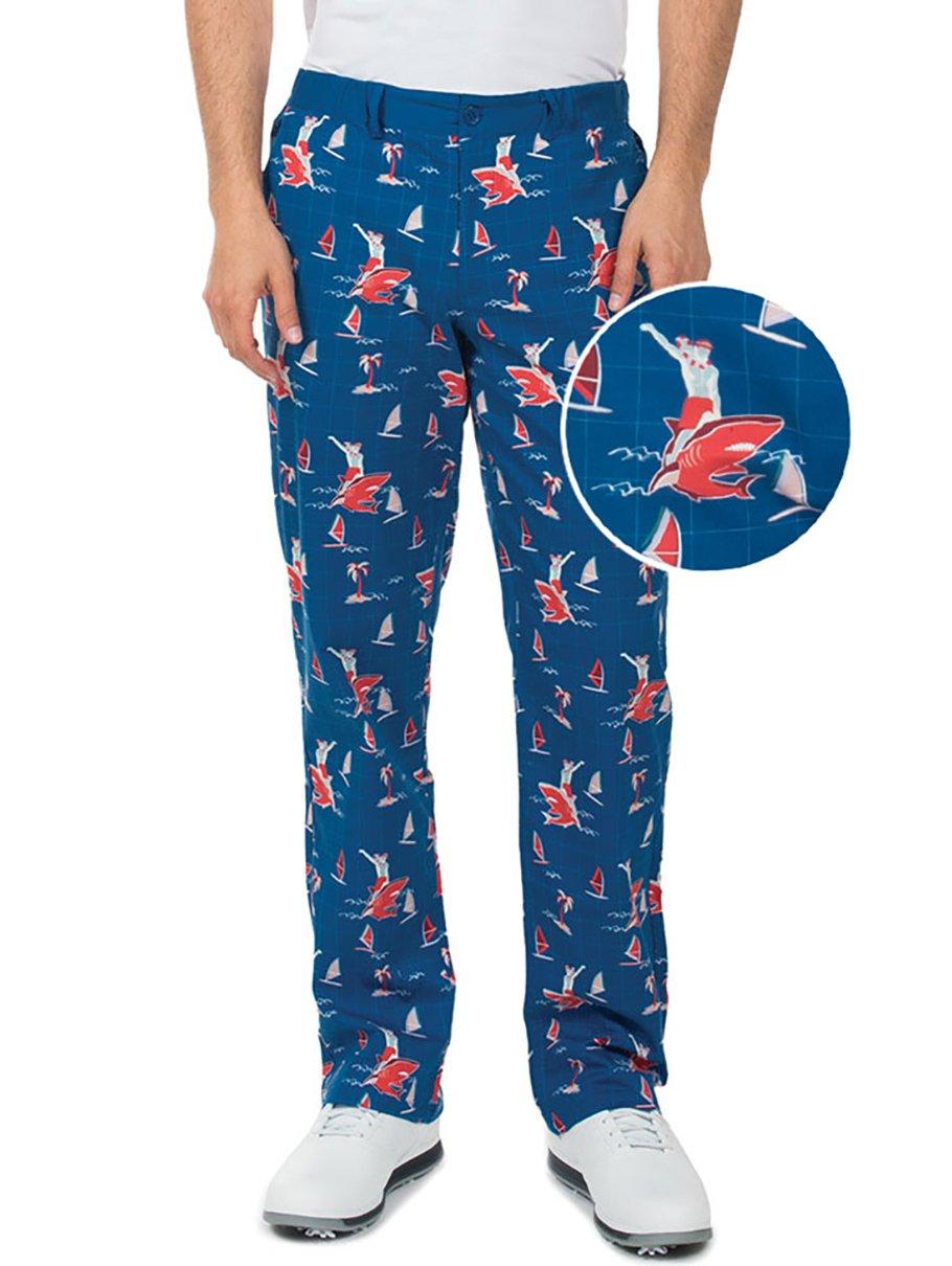 fe34cd7795b9 Tipsy Elves Men s Loud Golf Pants - Wild Golfing Pants Golf Outfit for Men