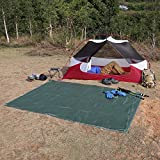 OUTAD Waterproof Camping Tarp for Picnics, Tent Footprint,...