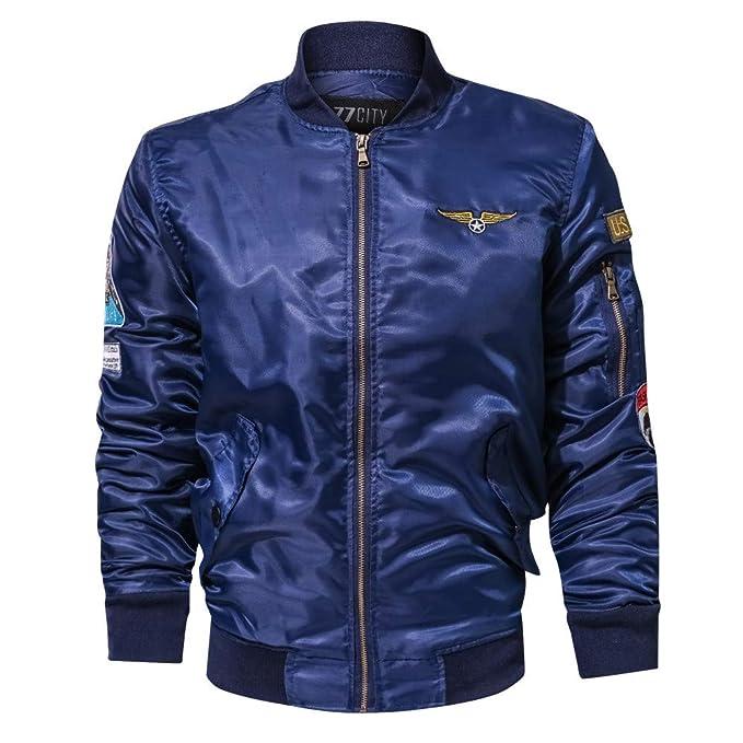 hotkey Men Blouse Teen Boy Winter Jacket Stand Collar Coat Shirt Sweatshirt Hoodies at Amazon Mens Clothing store:
