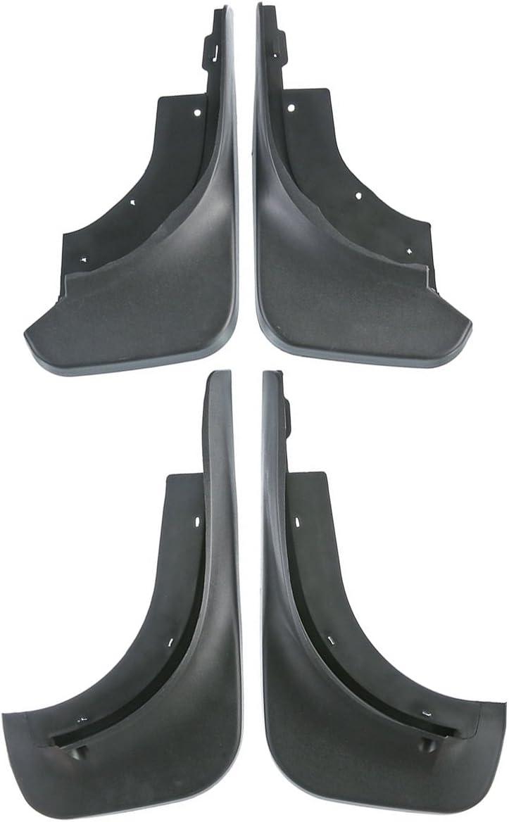 4pcs Front and Rear Mud Flaps Splash Guards Set for Volkswagen Touareg 2007-2010